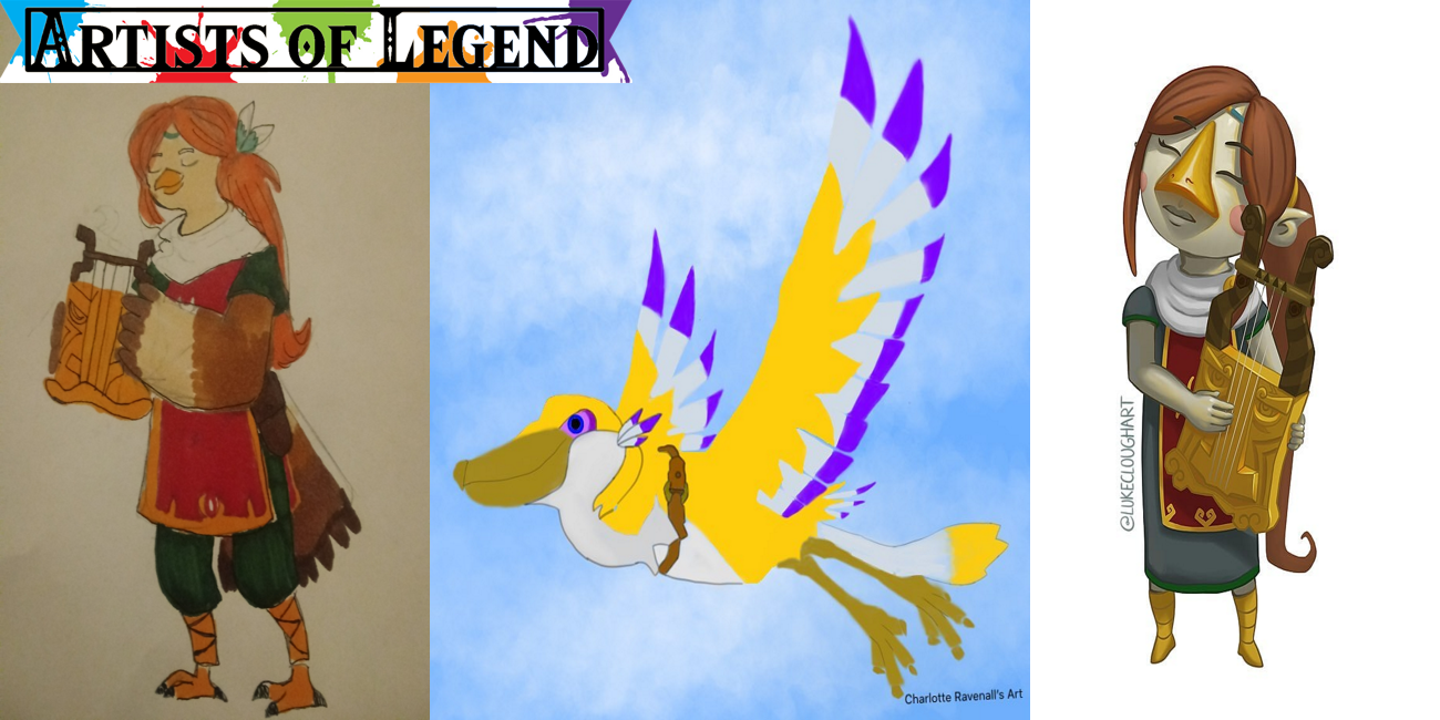 Artists of Legend: Avians and Aquatic Animals
