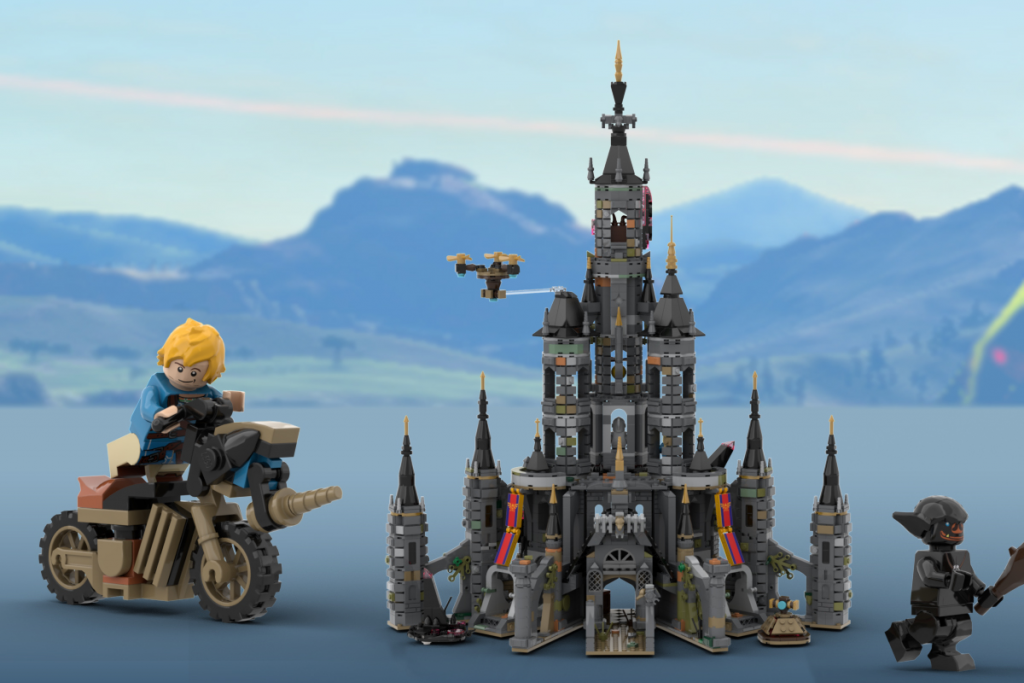 Breath Of The Wild Hyrule Castle Lego Set Qualifies For Official Review Zelda Dungeon