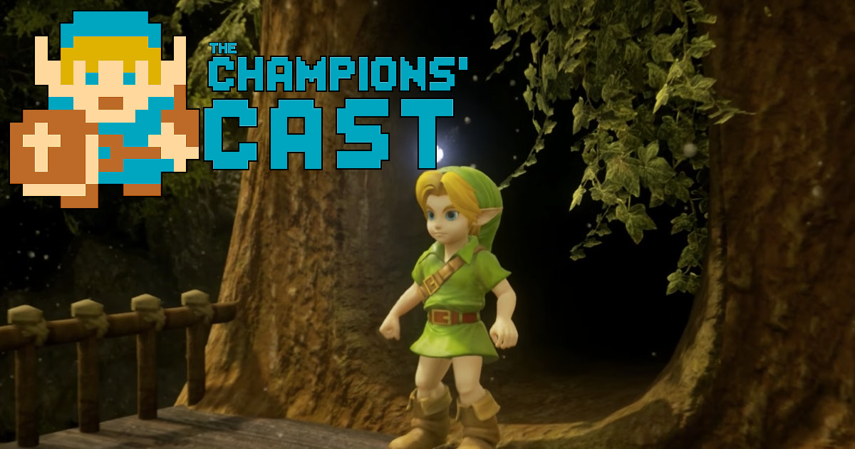 Pitching a Final Fantasy VII Style Remake of Ocarina of Time in The Champions' Cast - Episode 109!