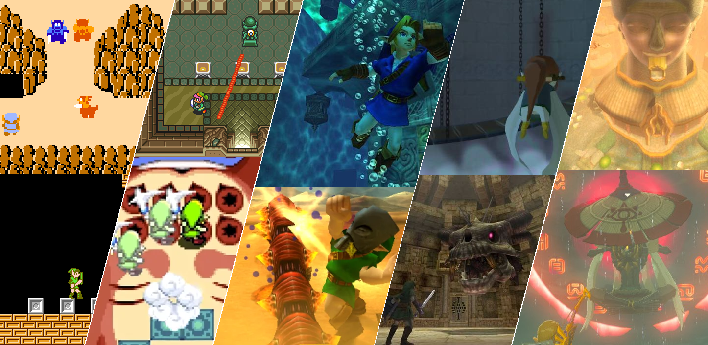 Ranking the Top 50 Dungeons in the Zelda Series: Dungeons #50-41