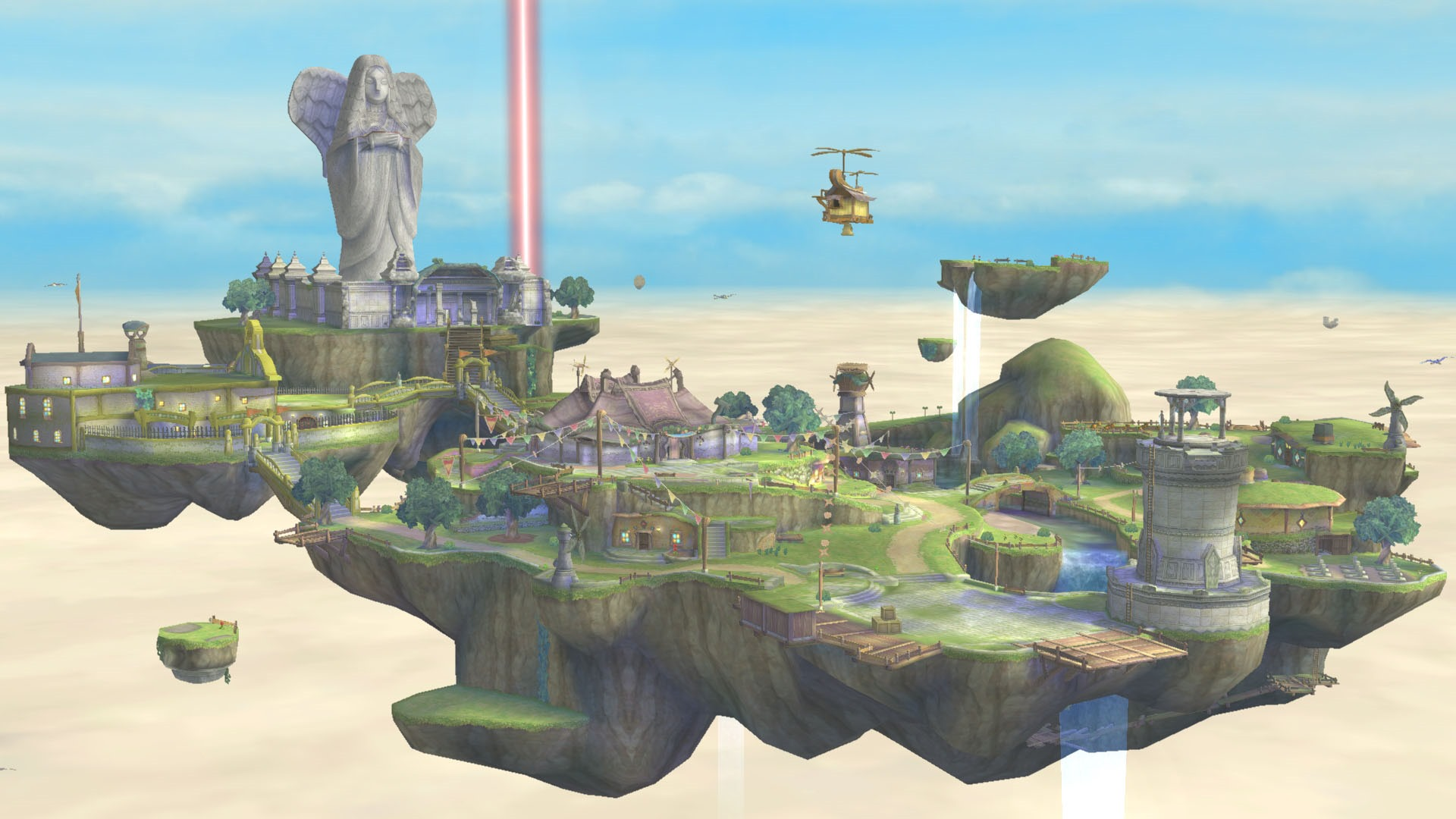 Cities in the Sky: Awe-Inspiring Floating Cities in The Legend of Zelda and Beyond