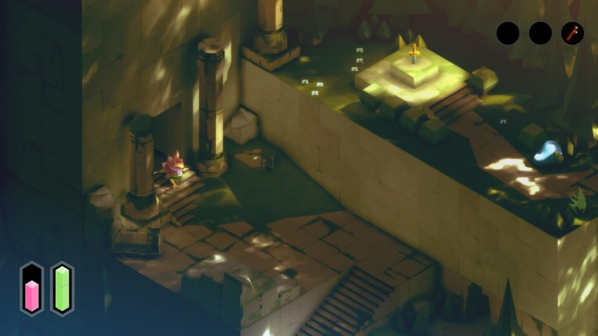 Inspired By Zelda Trotting Through The Demo Of Tunic Zelda Dungeon