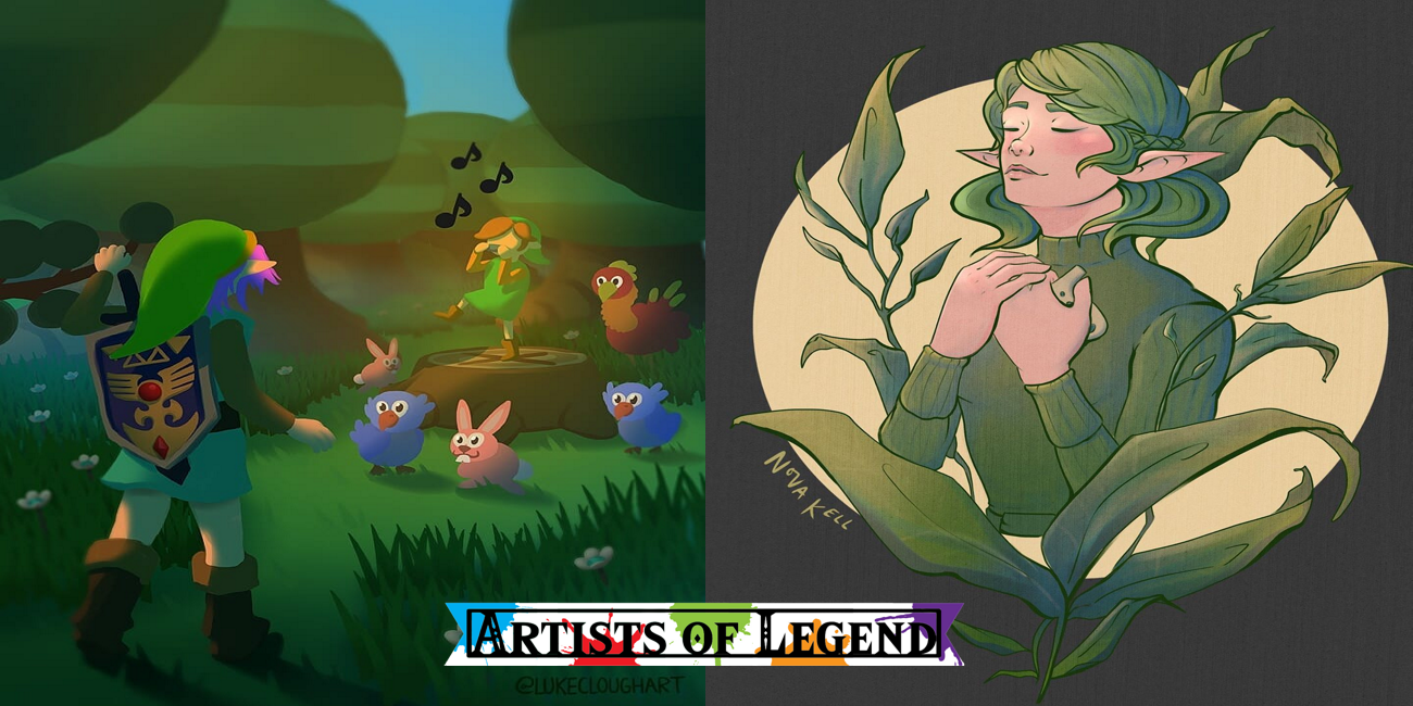 Artists Of Legend: Forests And Forgotten Characters