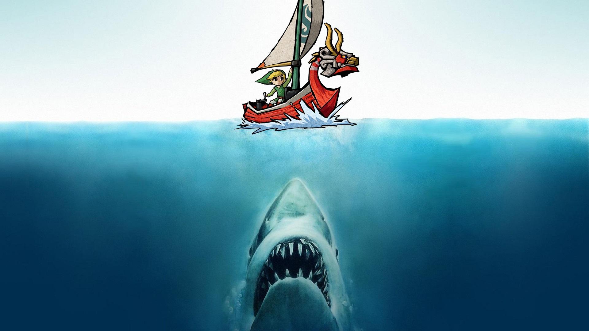 The Zelda Series Needs More Sharks