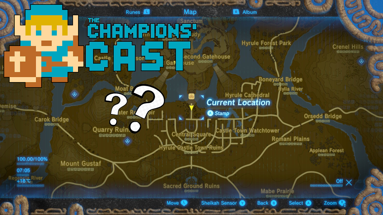 Playing Guess That Zelda Location in The Champions' Cast - Episode 121!