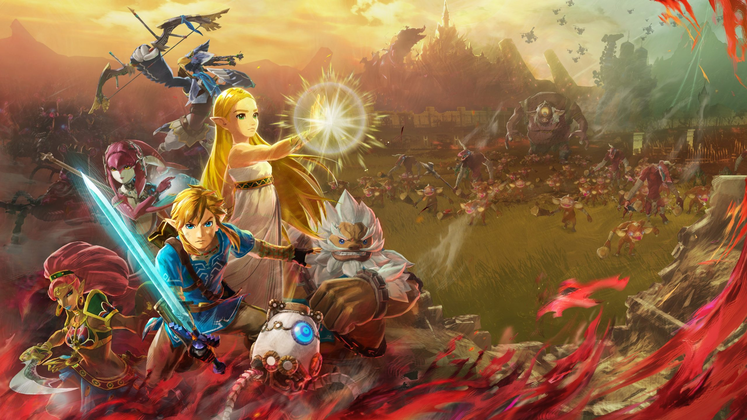 Daily Debate What Other Playable Characters Do You Hope To See In Hyrule Warriors Age Of Calamity Zelda Dungeon