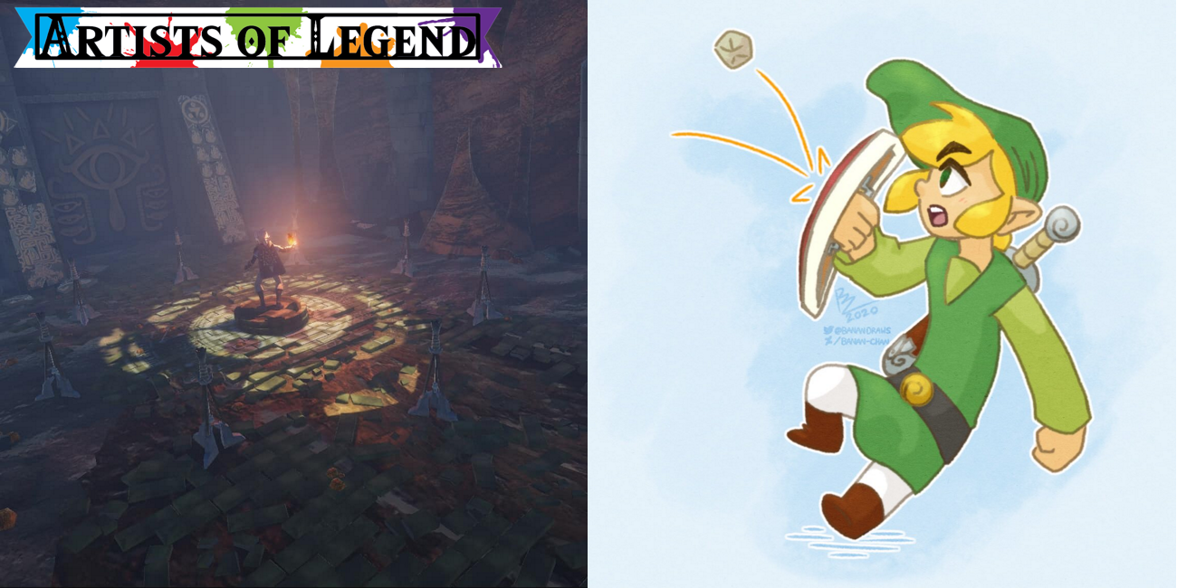 Artists Of Legend: Homes And Hurt Hyrule