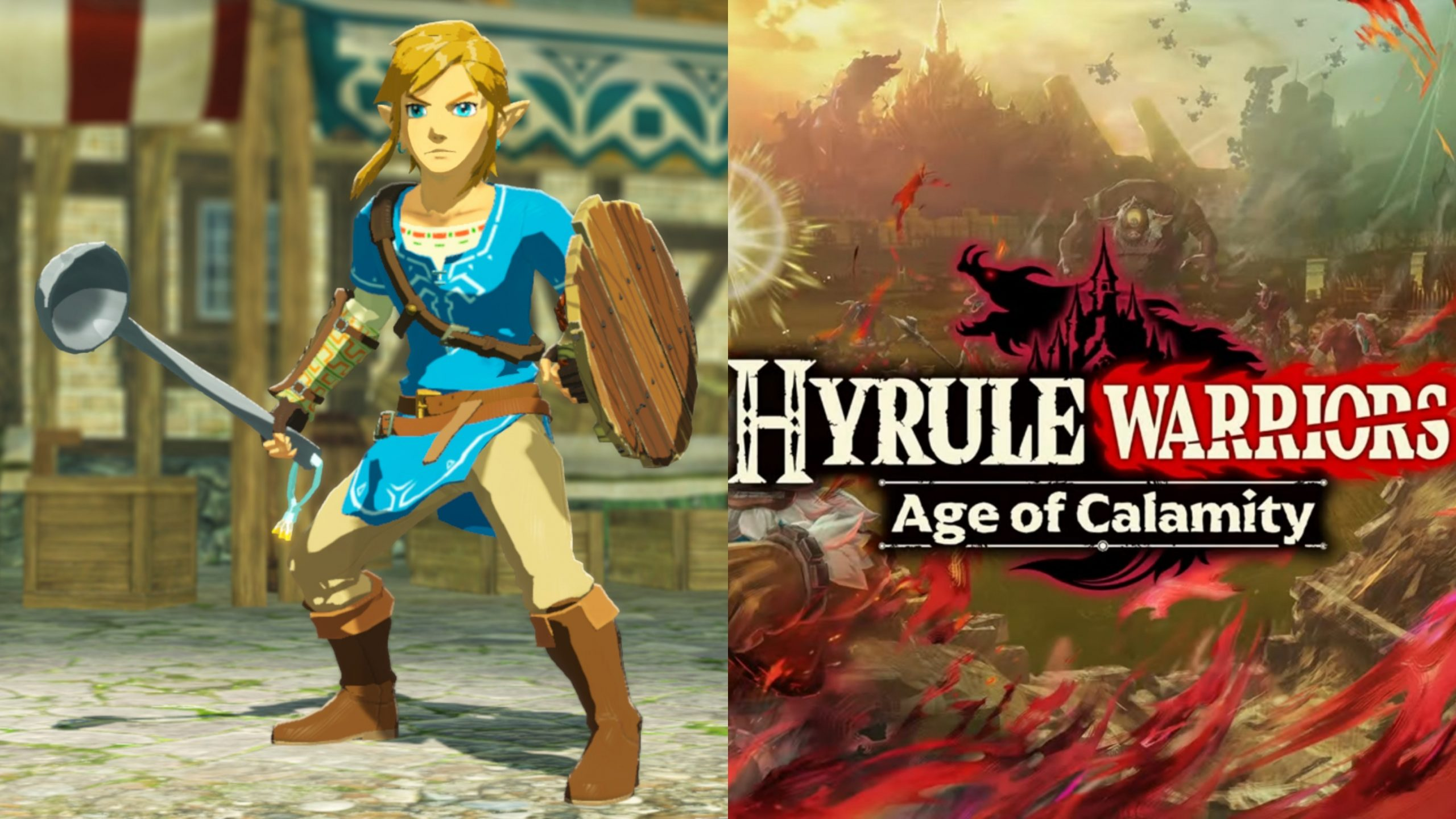 Get An Exclusive Weapon For Link When You Digitally Preorder Hyrule Warriors Age Of Calamity Zelda Dungeon
