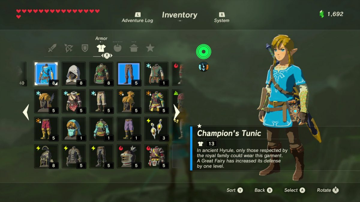 Daily Debate Will The Champion S Tunic Be Replaced In Breath Of The Wild 2 Zelda Dungeon