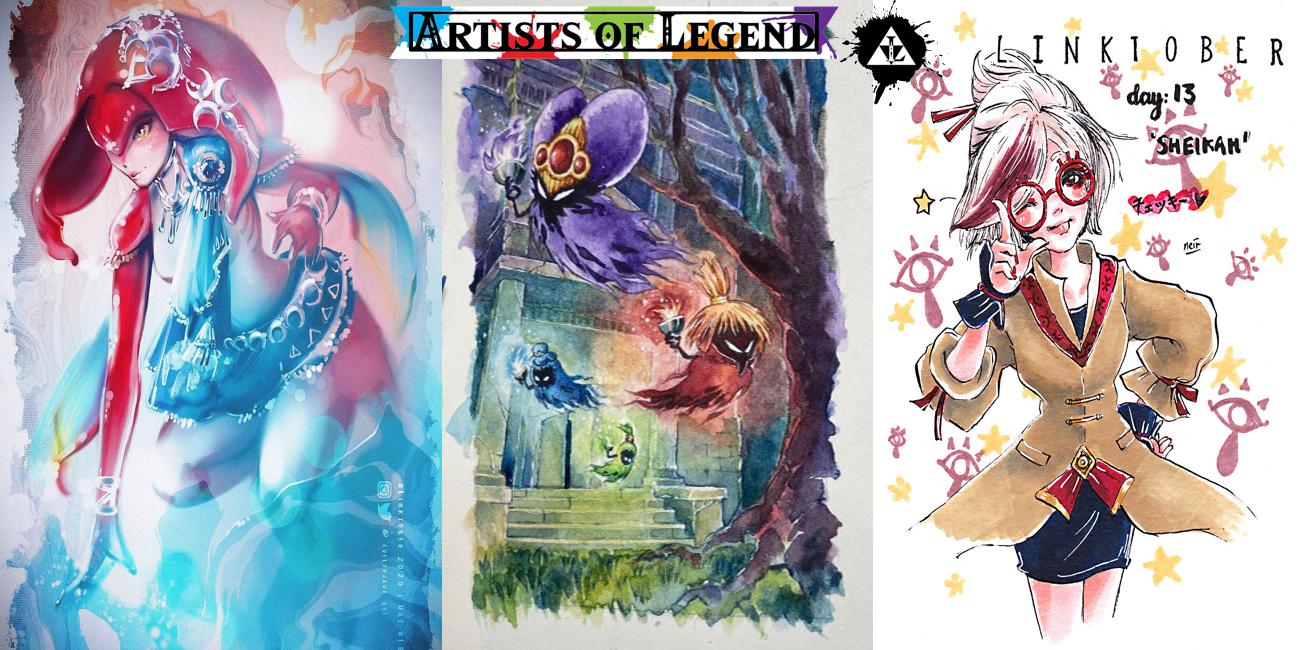 Artists of Legend: Linktober 2020 Week Three