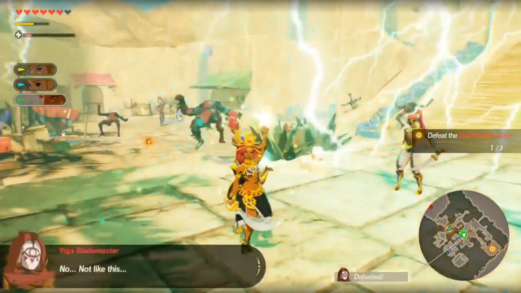 New Hyrule Warriors Age Of Calamity Gameplay Shows Off Urbosa And Princess Zelda In Action Zelda Dungeon