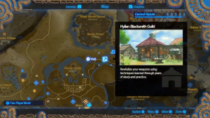 Breath Of The Wild S Full Map Is Recreated In Hyrule Warriors Age Of Calamity Zelda Dungeon