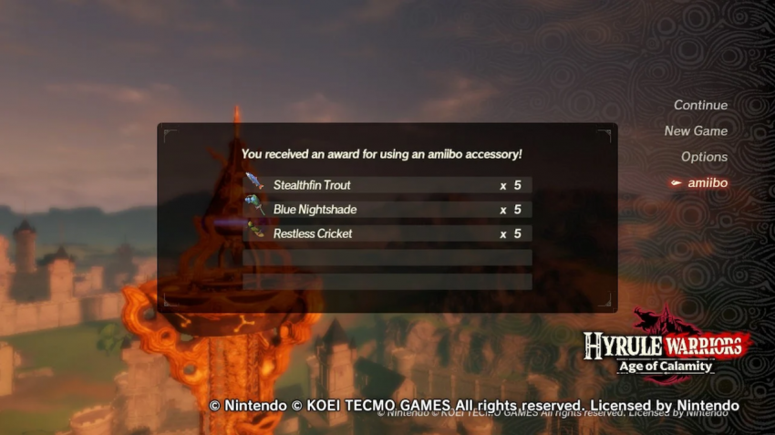 Hyrule Warriors Age Of Calamity Amiibo Functionality Details Revealed Zelda Dungeon