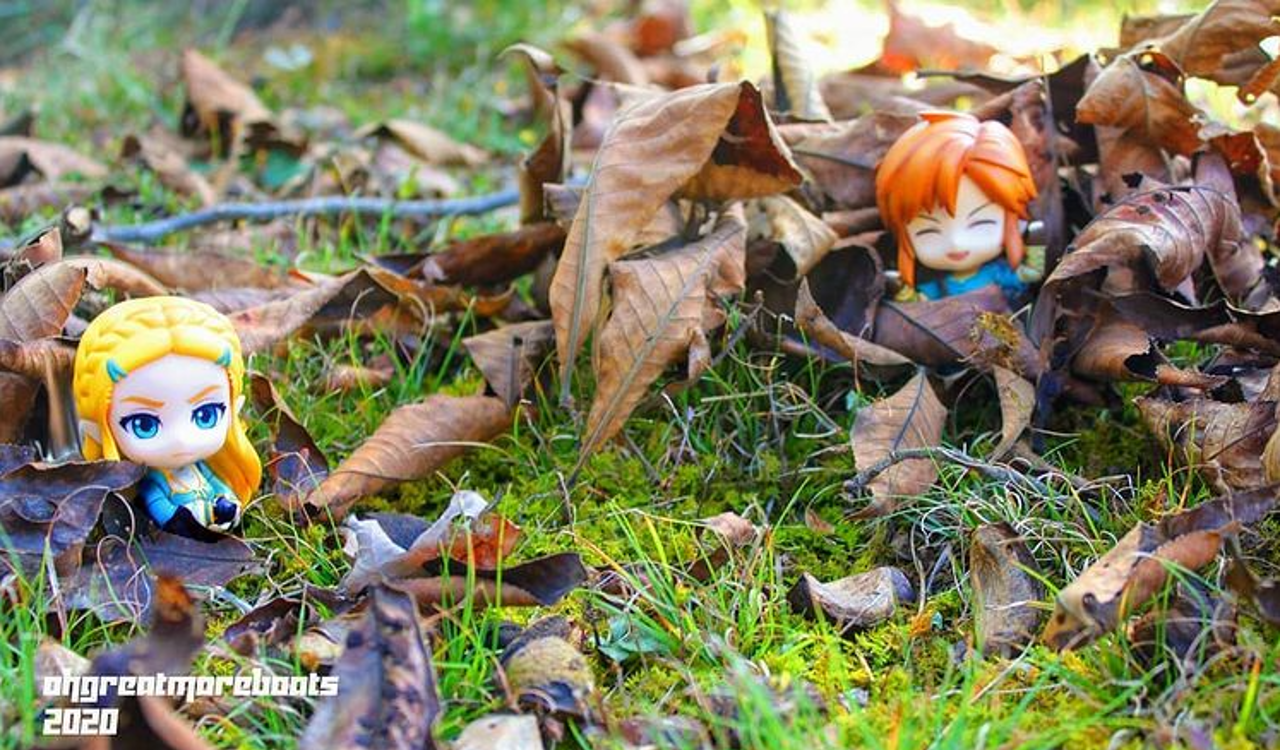 Exploring The Dynamic Realm of Linktober Figure Photography -- An Interview With Artist Ohgreatmoreboats