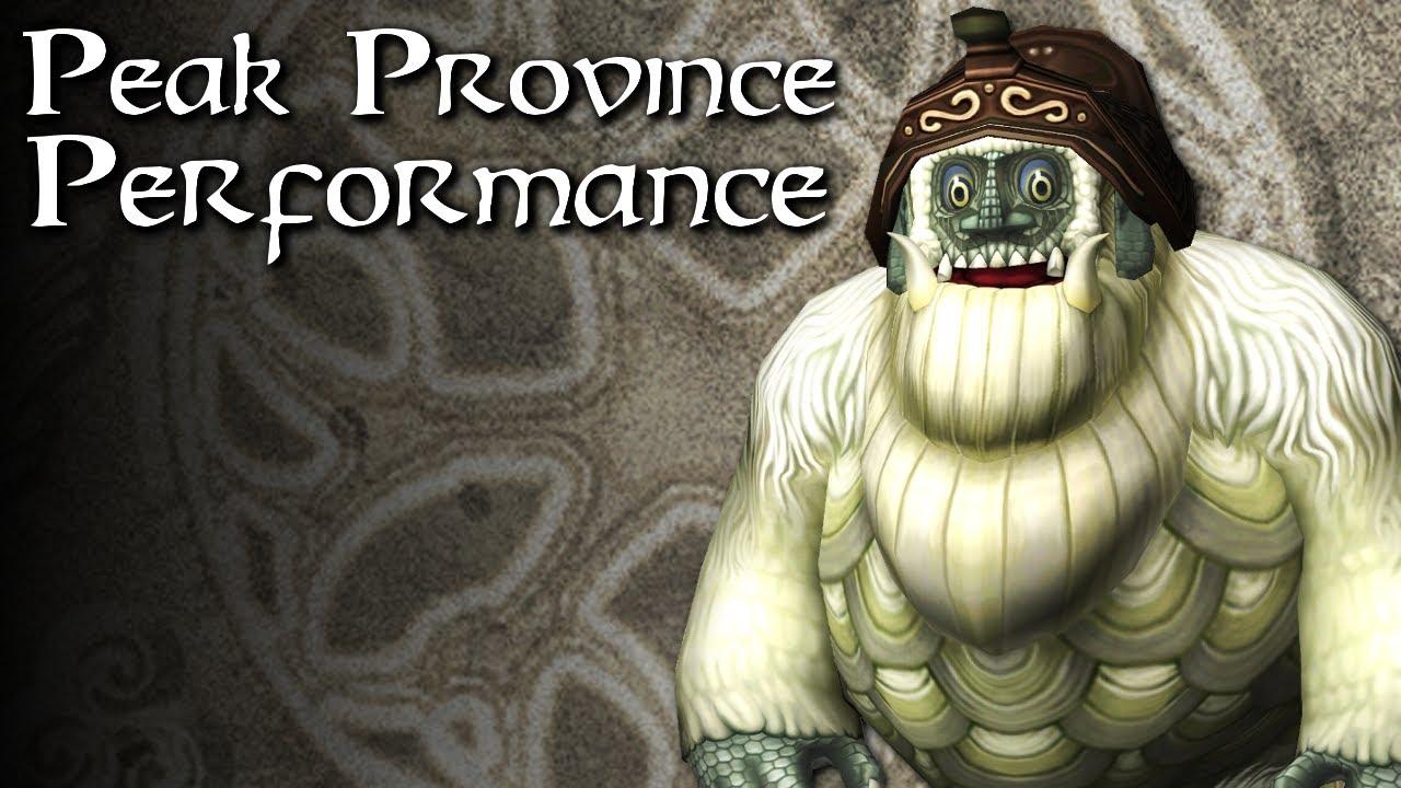 Zelda Warfare - Peak Province Performance