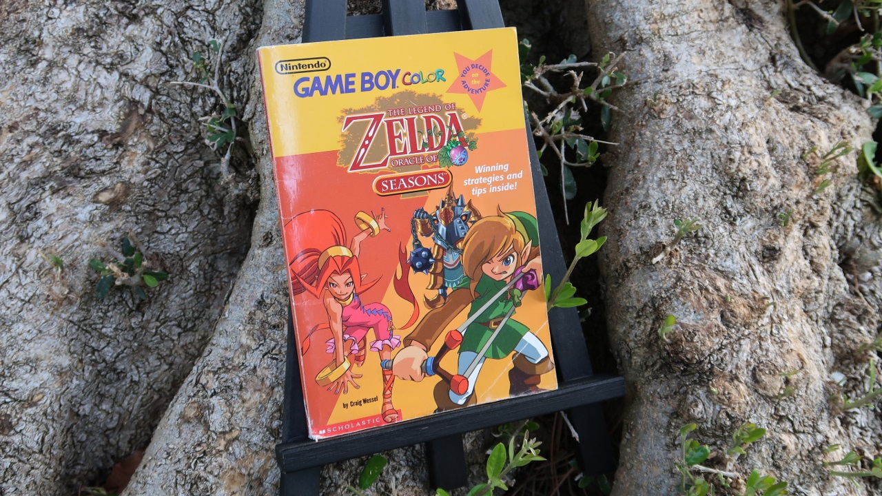 Looking Back at the Oracle of Seasons Choose-Your-Own-Adventure Book