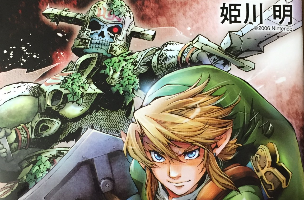 Volume 8 of the Twilight Princess Manga is Available Now