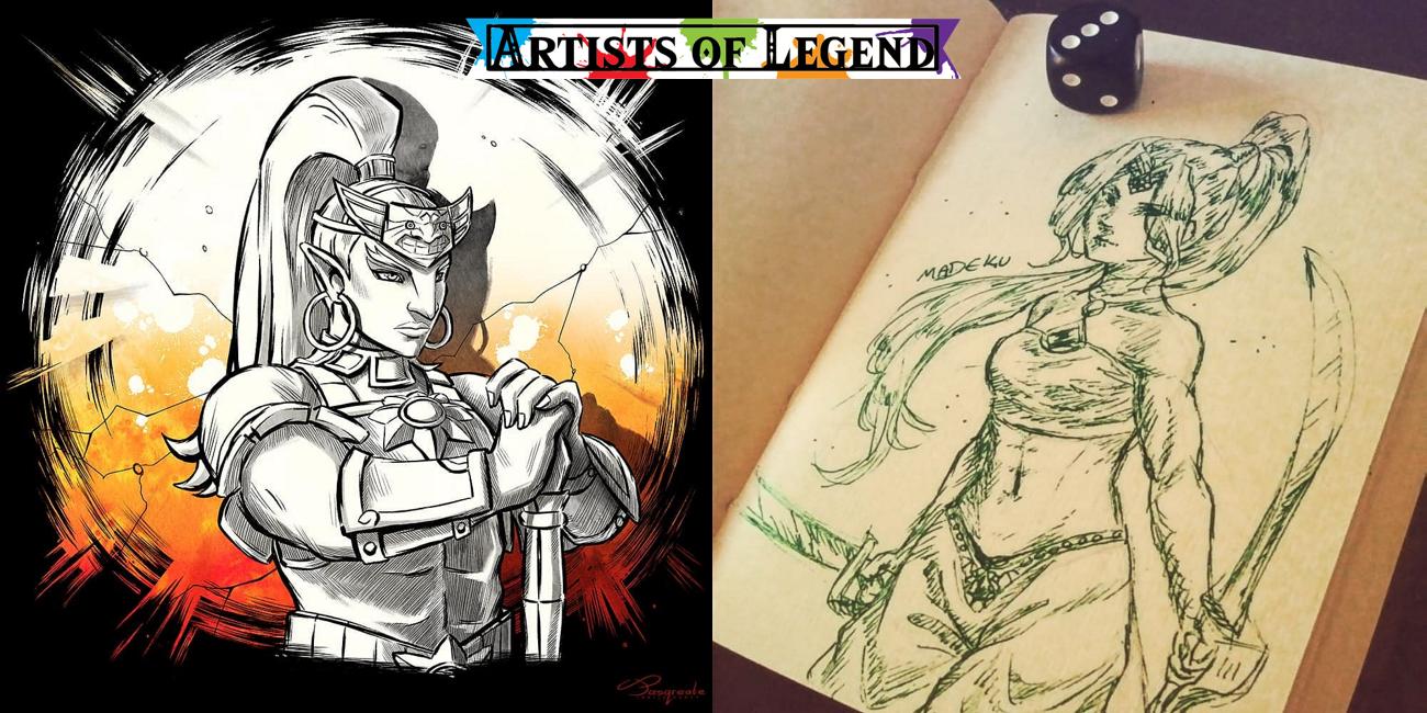 Artists Of Legend: Gerudo And Games