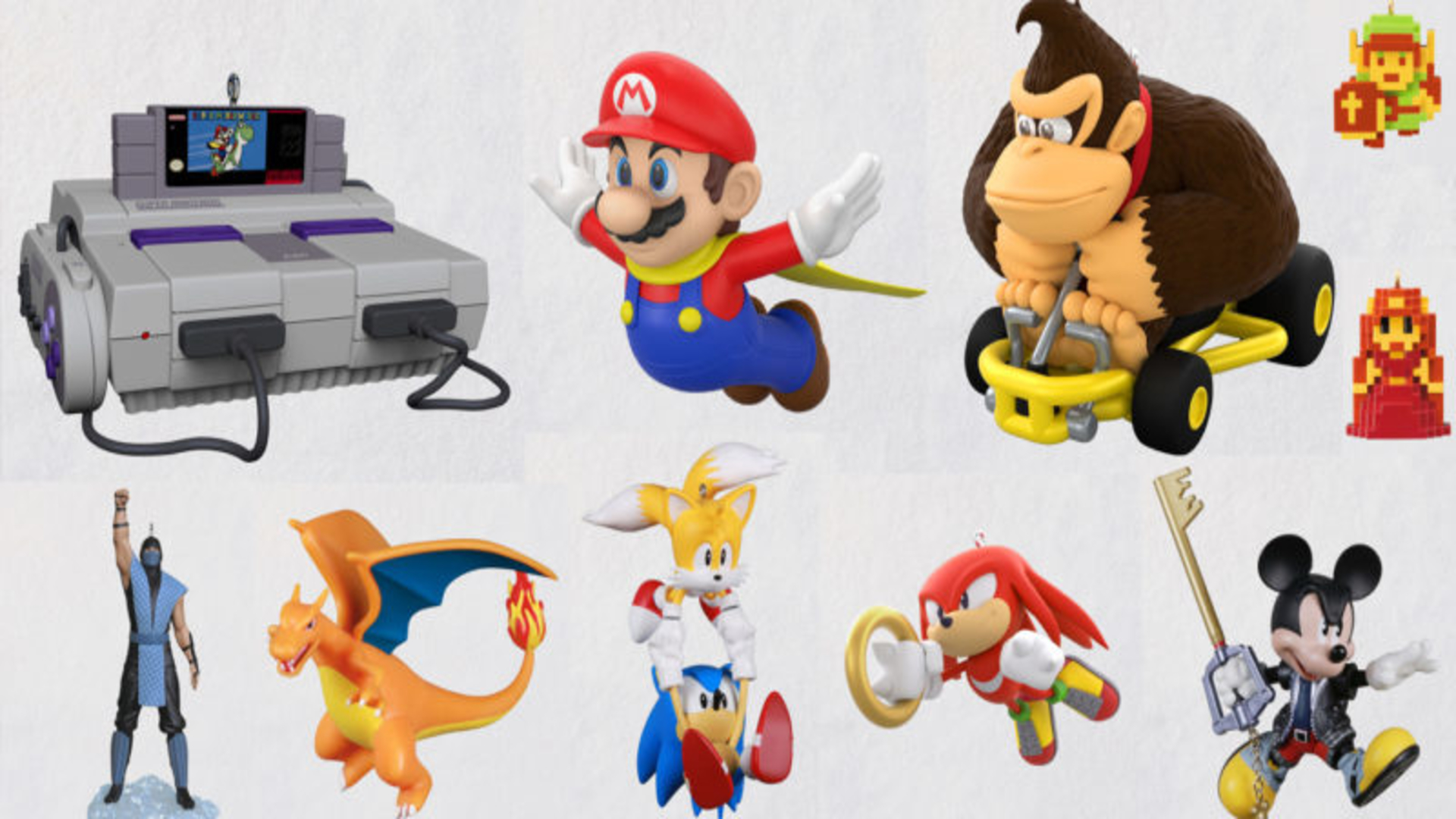 Hallmark Reveals 2021 Nintendo-Inspired Ornament Collection