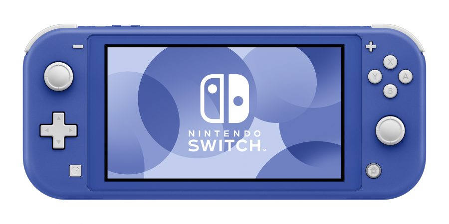 Nintendo Unveils New Blue Switch Lite To Be Released Next Month