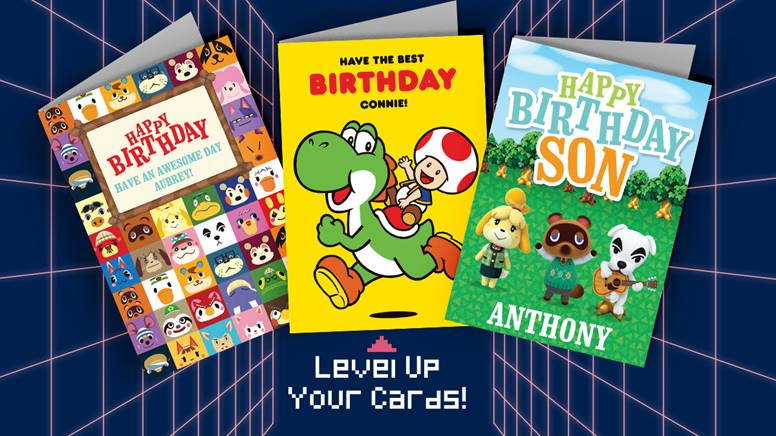 Celebrate With These Officially Licensed Nintendo Greeting Cards!