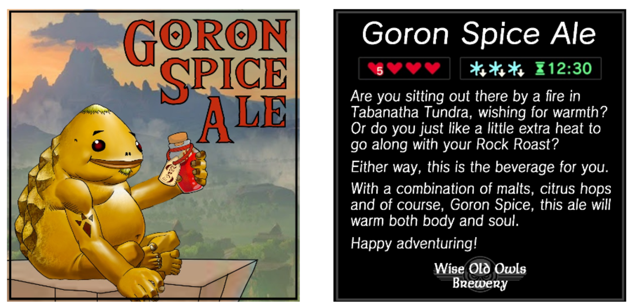 Interview: Brewthers-In-Law Podcast Team Crafts Zelda Themed Beer to Celebrate the 35th Anniversary