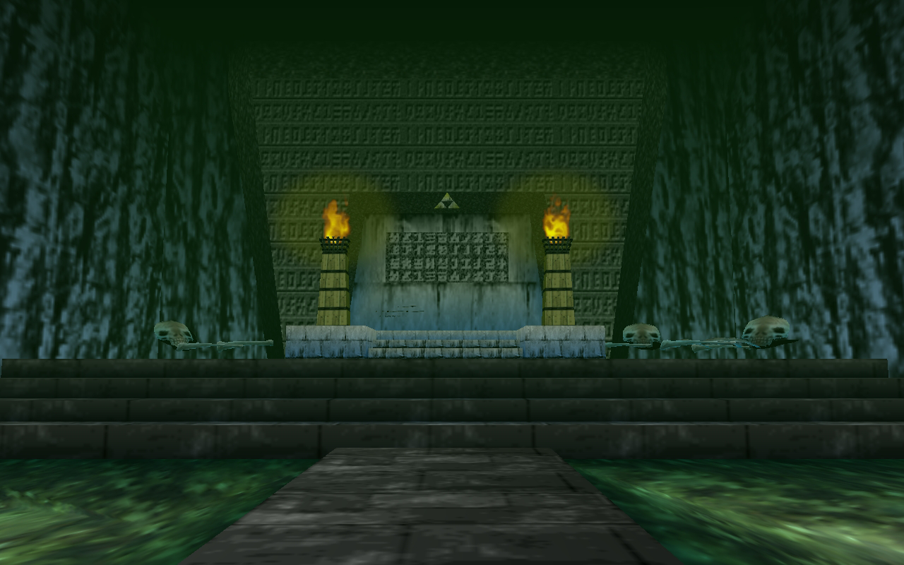 Royal Family's Tomb from Ocarina of Time is Reimagined in HD