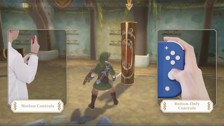Nintendo Further Demonstrates Skyward Sword HD's Button-Only Controls -  Zelda Dungeon