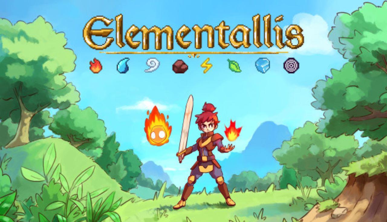"Zelda-Like ""Elementallis"" Meets Kickstarter Goal, Scheduled For June 2022 Release"