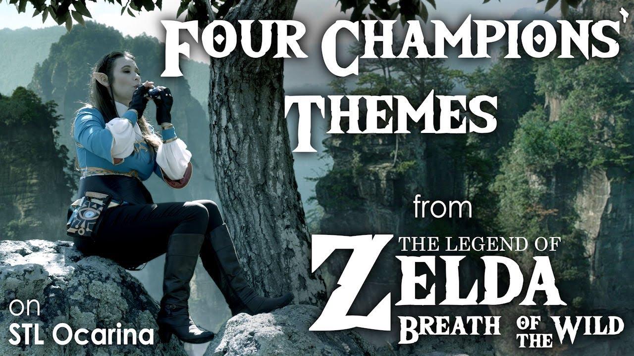 Ocarina Maker STL Ocarina Gives a Fresh Breath to the Four Champions' Themes