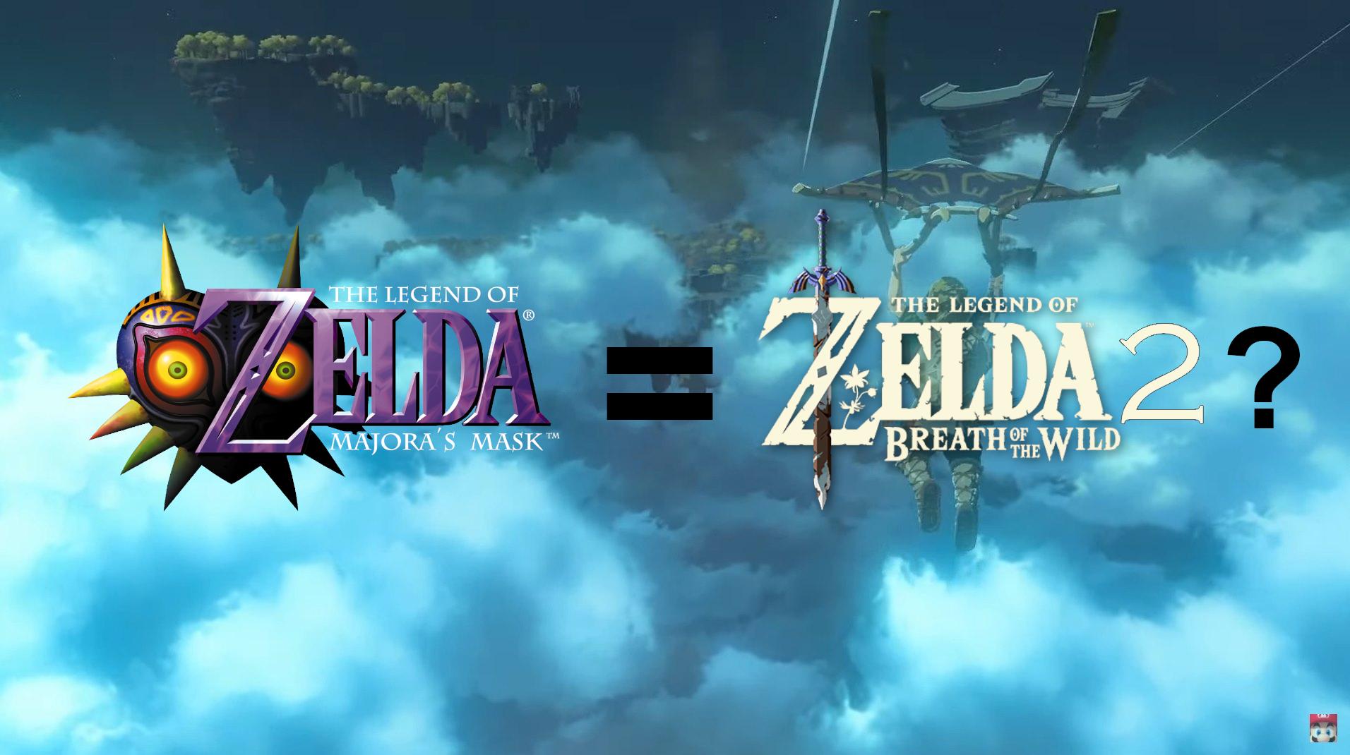 Nintendo Dispells Comparison Between Breath of the Wild 2 and Majora's Mask