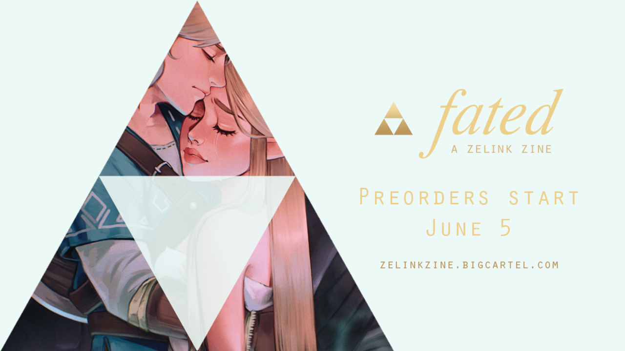Preorder Now Available for Charity Anthology Project, Fated: A Zelink Zine