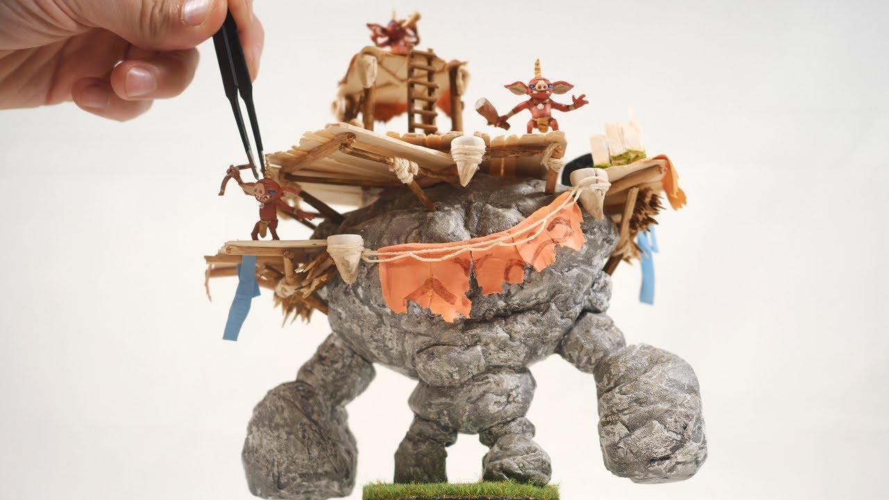 Start a New Art Project With This Bokoblin Talus Clay Sculpture Tutorial