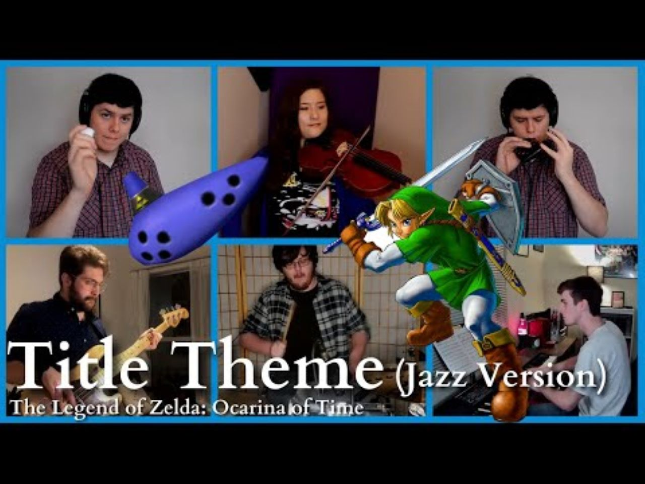 """Get Your Groove On With This Jazz Arrangement of Ocarina of Time's """"Title Theme"""""""