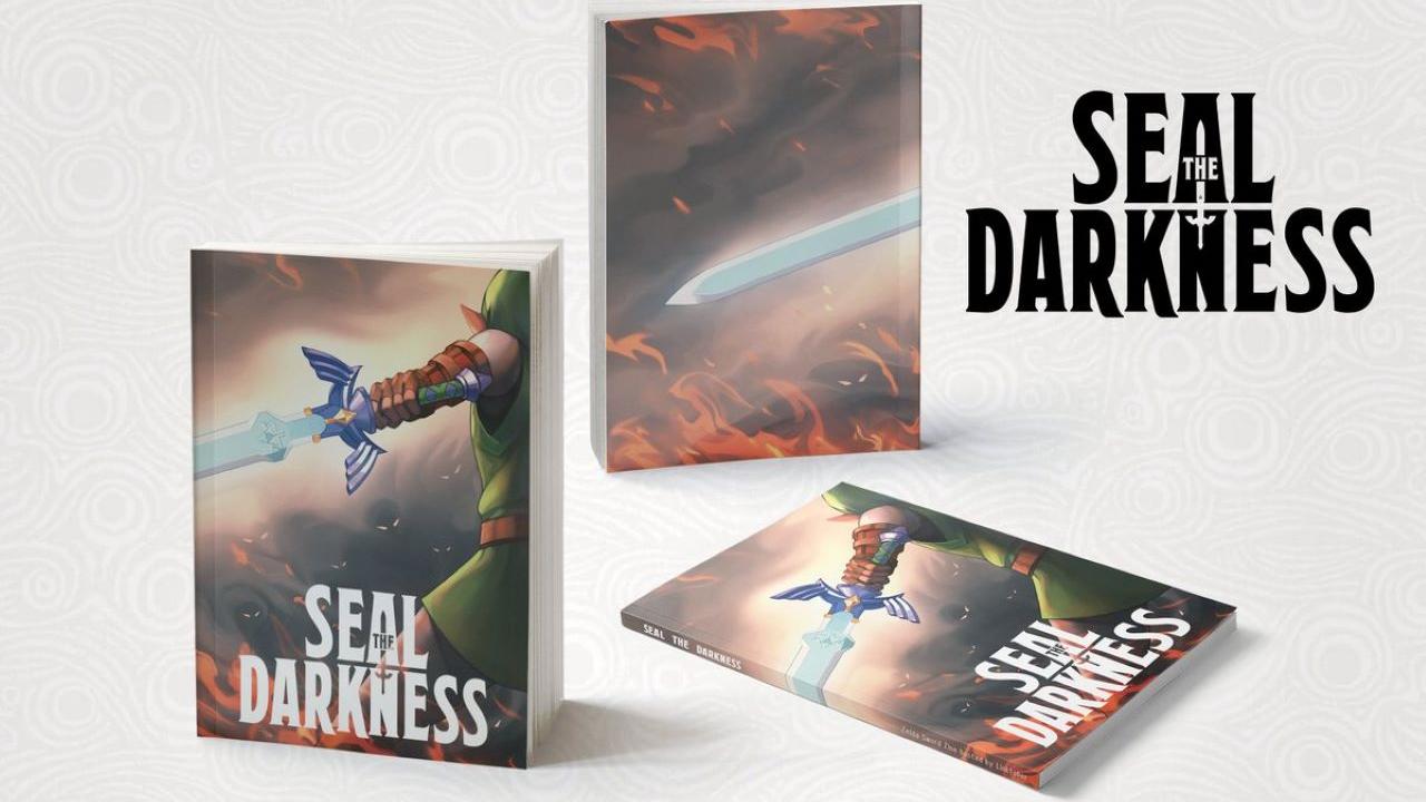 """Upcoming Zelda Zine """"Seal the Darkness"""" Reveals Cover Art"""