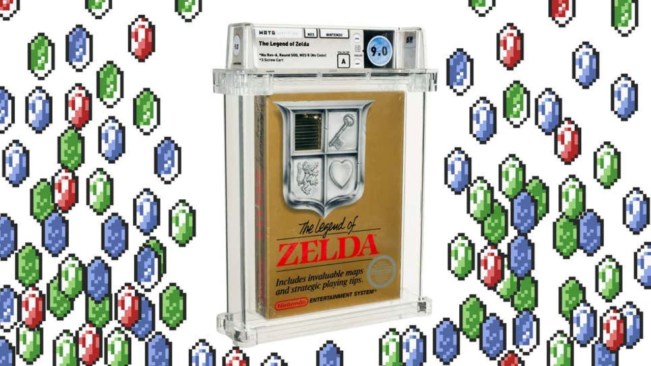 Rare Legend of Zelda NES Cartridge Goes to Auction at $110,000