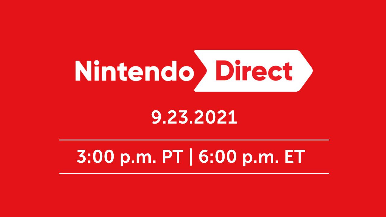 Nintendo Direct Announced for September 23rd!