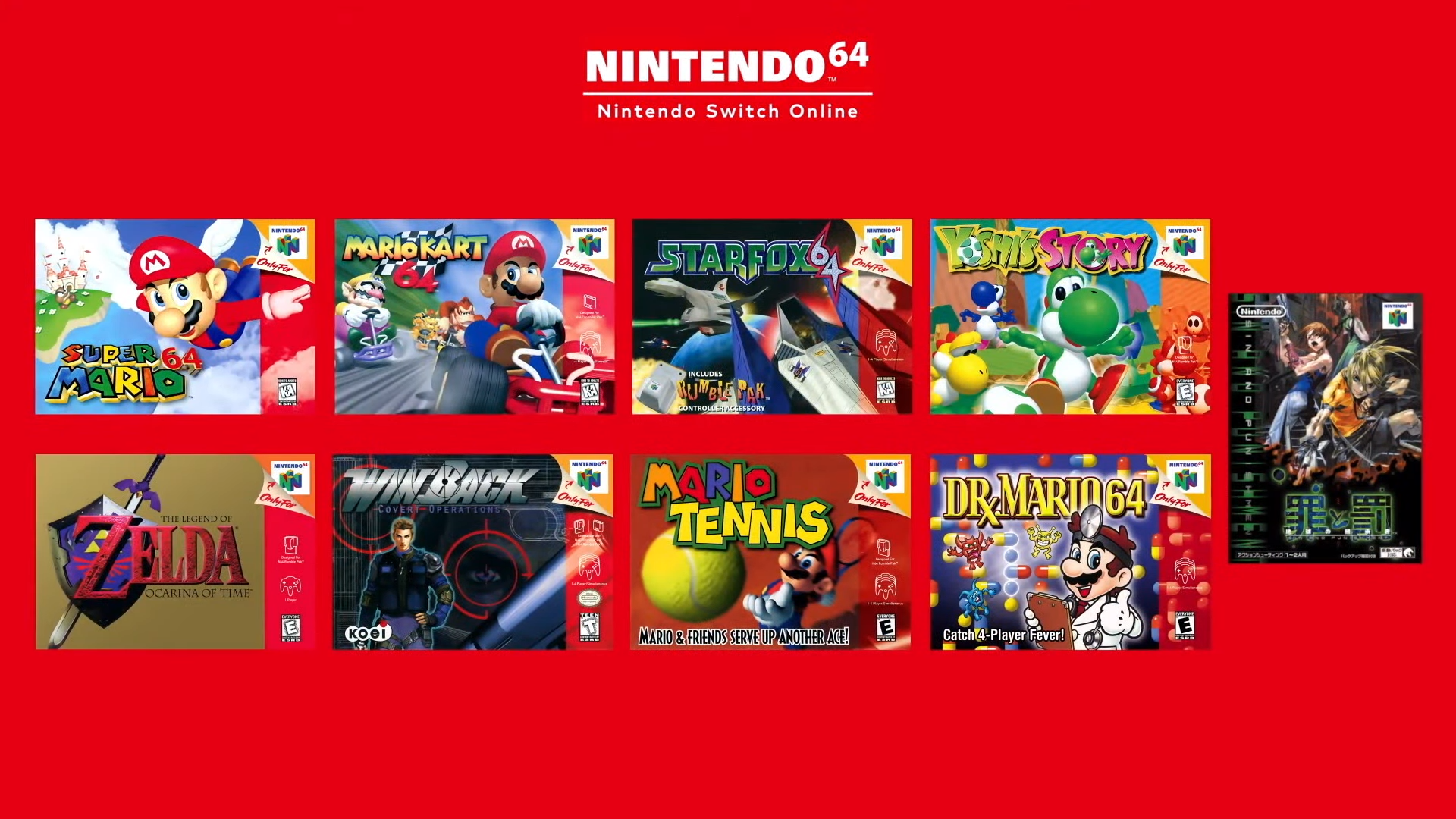 Nintendo 64 Games Are Coming to Nintendo Switch Online
