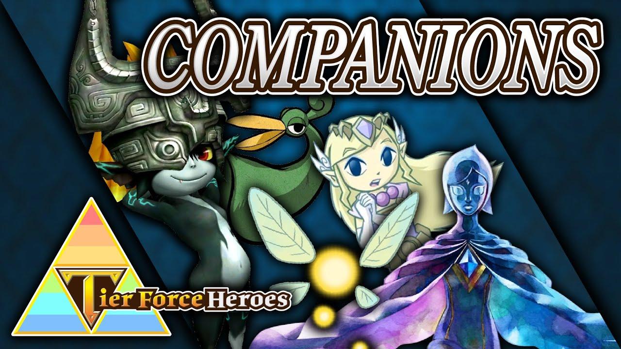 Ranking Zelda Companions | Tier Force Heroes