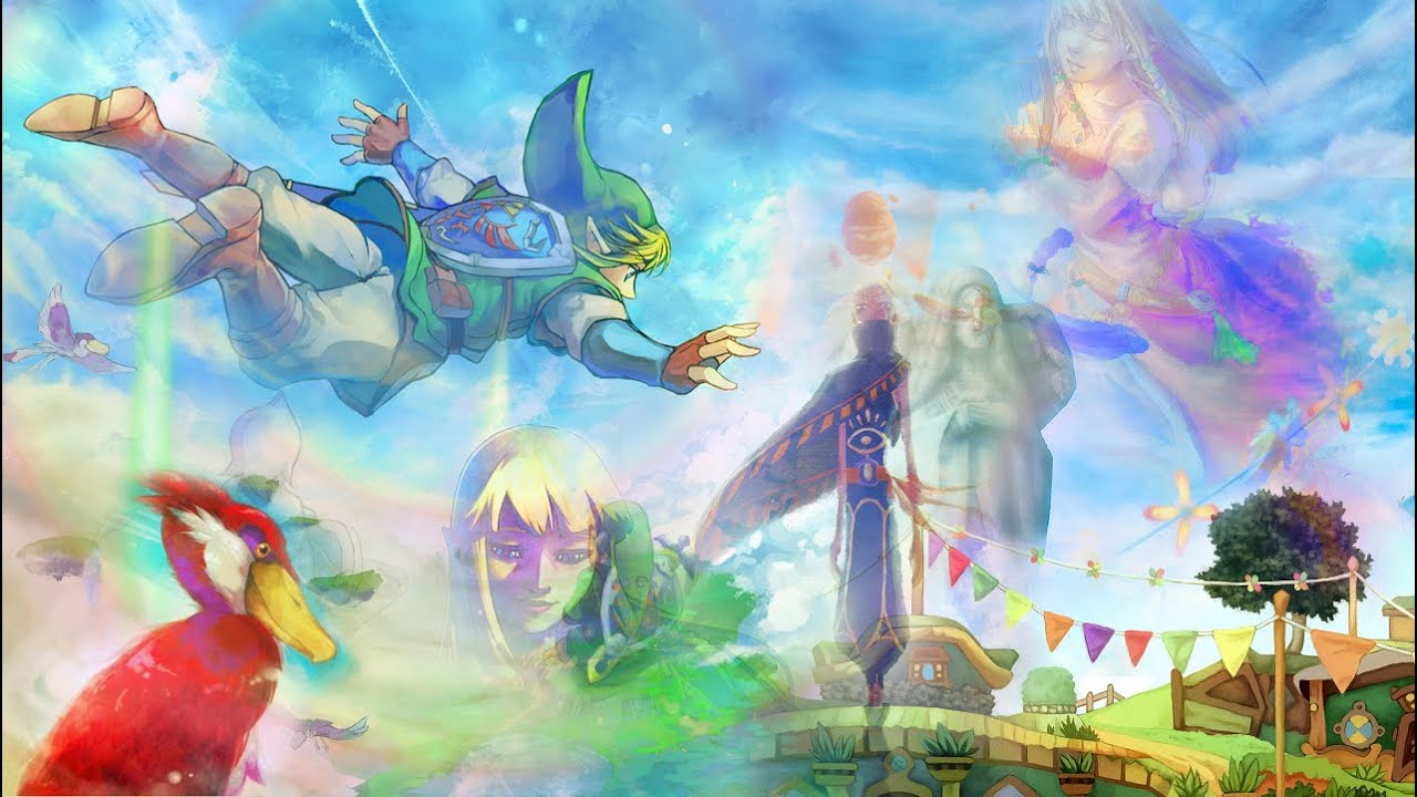 Check Out This Twenty-Minute Fan Medley That Pays Tribute To Skyward Sword